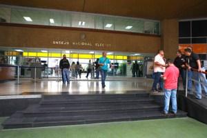 CNE admitió siete candidaturas presidenciales