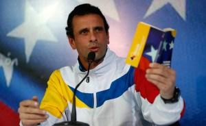 Capriles a Maduro: Llevas 100 días desgobernando a Venezuela