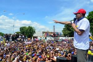 Capriles: Si cada venezolano se moviliza vamos a derrotar a este Gobierno corrupto