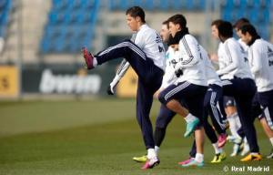 El Real Madrid se entrenó en el estadio del City