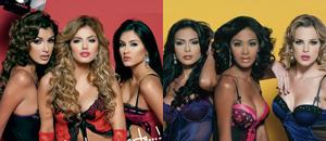 """Seis bellezas criollas, ex misses, te dejarán boquiabierto en el calendario """"Chance"""""""