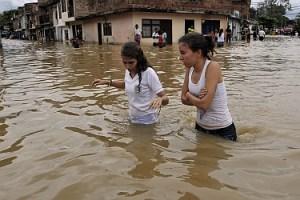 Las lluvias en Colombia han dejado 45.000 damnificados