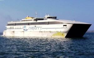 Incendio en ferry Lilia Concepción fue controlado
