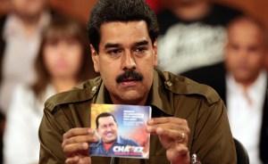 Maduro ha pronunciado el nombre de Chávez 3.456 veces en 16 días