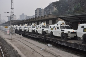 Decenas de tanquetas antimotines chinas importa la Guardia Nacional Bolivariana (fotos)