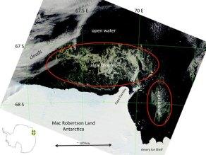 EEUU reclama un santuario marino para proteger la Antártida