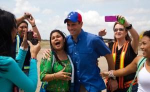 Capriles: Nicolás no da la talla
