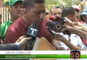 Trabajadores de Pdvsa mantienen protesta en Zulia para exigir destitución de la directiva occidente