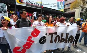 Exigen a Conatel prohibir campaña electoral en las cadenas (Fotos)