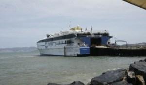 Avería de nave no afectará operaciones de Conferry