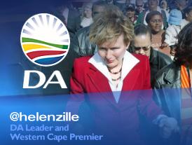 Jefa de la oposición de Sudáfrica mordida por una rata