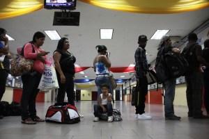 Así está el Terminal de La Bandera este jueves (Fotos)
