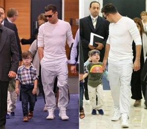 Ricky Martin cuida muy bien el estilo de sus gemelos (FOTO)