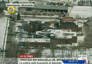 Policía investiga un supuesto tiroteo en escuela de Minnesota, EEUU