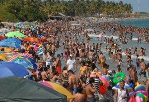 Carabobo, Aragua y Falcón con 124 playas aptas para Semana Santa