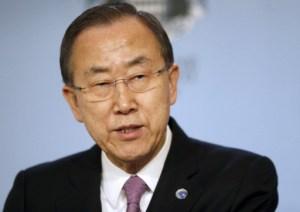 """""""Graves consecuencias"""" si se usan armas químicas en Siria (Ban Ki-moon)"""