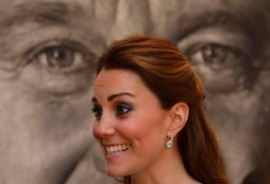 Kate deslumbró en la National Portrait Gallery (Fotos)