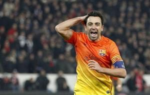 Xavi dedicó su gol en París a un niño con leucemia