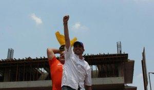 El doble de Capriles (Fotos)