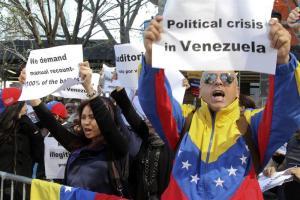 Venezolanos en Nueva York piden ante la ONU auditoría del resultado electoral