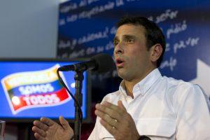 Capriles: Vamos a impugnar las elecciones, no participaremos en una burla de auditoría