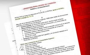 El libreto que seguirá Nicolás para el cierre de su campaña (documento inédito)