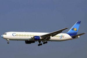 Conoce el avión de Google