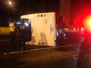 Accidente en la Fajardo dejó saldo de un muerto y un herido (Fotos)