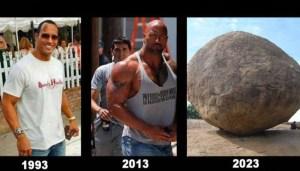 """El detalle que faltaba: Así se verá el actor """"The Rock"""" en el 2023"""