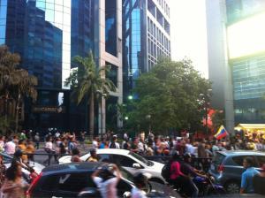Manifestaciones en varias zonas de Caracas (Fotos)