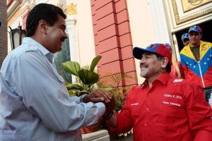 Maradona espera el llamado de Maduro para vestirse de soldado y pelear contra el imperio