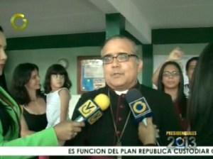 Monseñor Parra Sandoval invita a venezolanos a seguir votando
