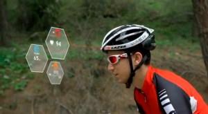 Crean casco inteligente para ciclistas (Video)
