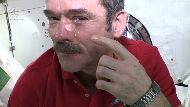 Impresionante: ¿Pueden llorar los astronautas en el espacio?