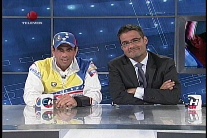 Capriles en Chataing: Estoy dejando el pellejo, después habrá tiempo de descansar