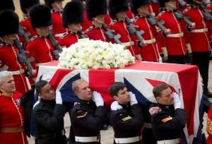 Último adiós en Londres a Margaret Thatcher