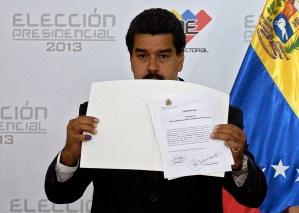 Nicolás Maduro anuncia que viene un golpe de estado