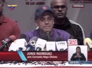 Jorge Rodríguez: Si el comando antichavista gana por un voto, nosotros vamos a reconocerlo