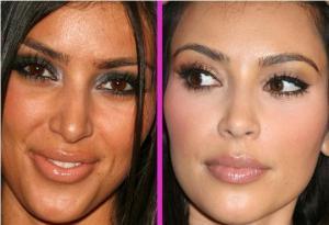 """Estaba """"toguel"""" y se arregló burda…Es Kim Kardashian (Foto)"""