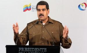 Maduro anunció a su nuevo tren ministerial