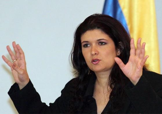 Maripili Hernáandez, condenó que el gobierno ejerza amenazas contra trabajadores públicos para que ejerzan su derecho al voto / Foto: Archivo