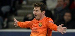 Messi se lesiona en el bíceps femoral derecho