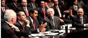 Este es el listado completo del gabinete ministerial de Maduro
