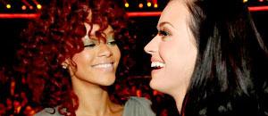 Rihanna a Katy Perry: Dejaré que me azotes en las nalgas