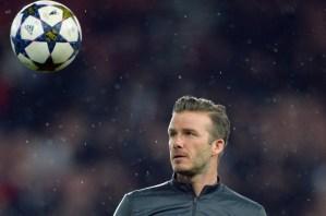 David Beckham, icono global (Fotos)