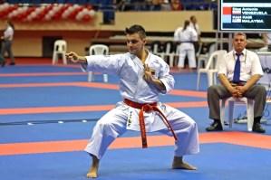 Antonio Díaz inicia defensa del título en Panamericano de Karate Do