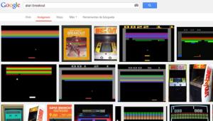 """Escribe """"Atari Breakout"""" en Google Images y mira qué pasa…"""