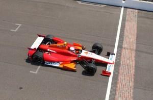 Ernesto Viso el más veloz en Indianápolis… ¡367 kilómetros por hora!