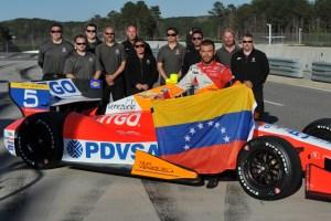 Ernesto Viso arranca en segunda fila en las 500 Millas de Indianápolis