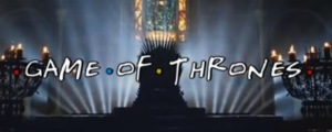 """Así sería si """"Game of Thrones"""" y """"Friends"""" se fusionaran"""